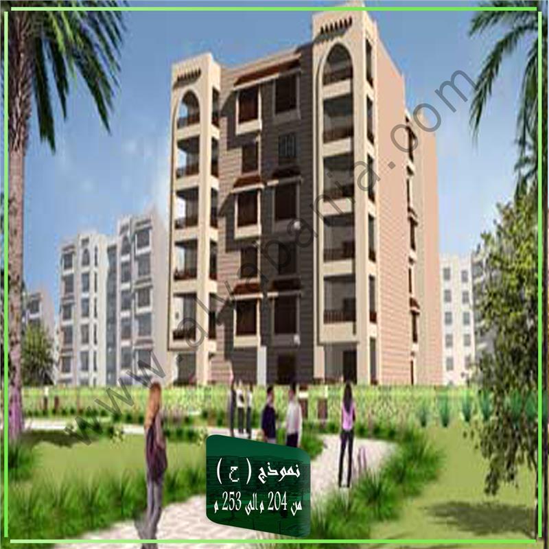 شقة فى مدينة الرحاب  204 م2 بحري و قبلي للبيع كاش كود 40218