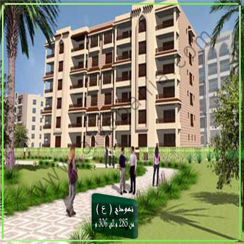 شقة فى مدينة الرحاب  305 م2 شرقي وقبلي للبيع كاش كود 39491