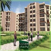 شقة فى مدينة الرحاب  260 م2 بحري وشرقي للايجار قانون جديد كود 1093
