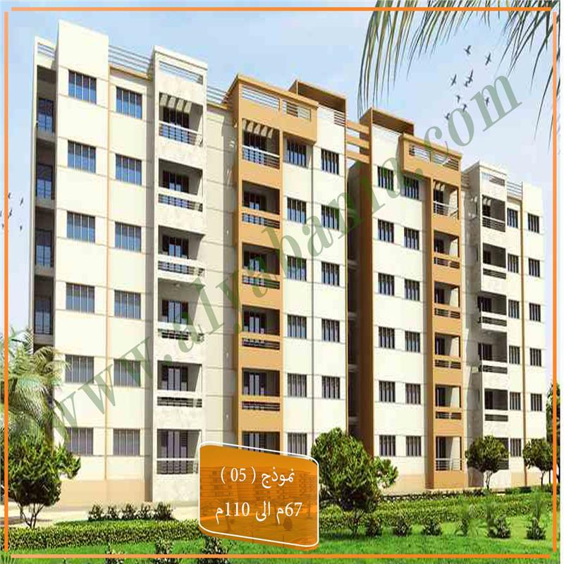 شقة فى مدينتى  110 م2 بحري وغربي للبيع كاش كود 43285