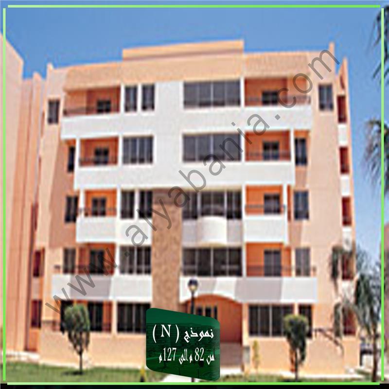 شقة فى مدينة الرحاب  127 م2 قبلى للايجار قانون جديد كود 6789