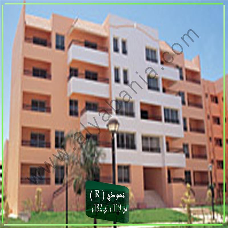 شقة فى مدينة الرحاب  182 م2 بحري وغربي للايجار قانون جديد كود 39401