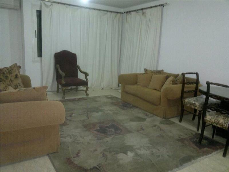 شقة فى مدينة الرحاب  109 م2 شرقي وغربي للايجار مفروش كود 1911