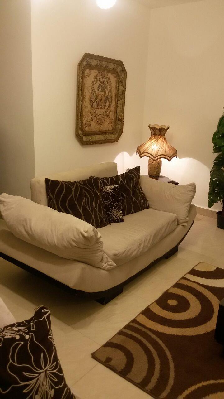 شقة فى مدينة الرحاب  150 م2 بحري و قبلي للايجار مفروش كود 21991