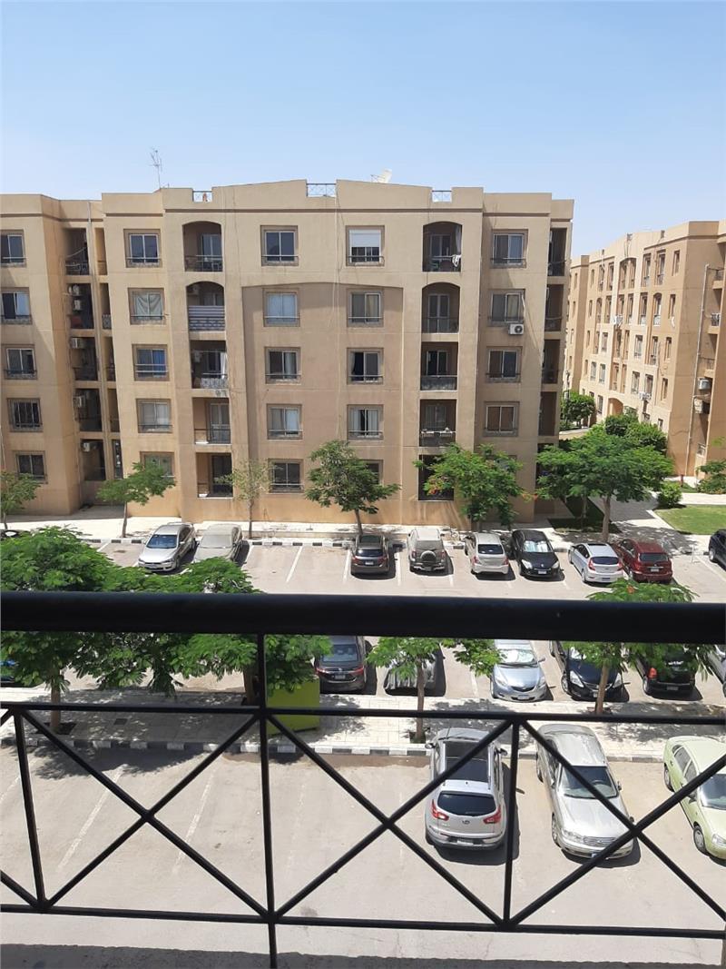 شقة فى مدينة الرحاب  123 م2 بحري وشرقي للايجار قانون جديد كود 27870