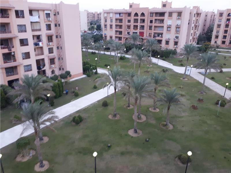 شقة فى مدينة الرحاب  160 م2 بحري وغربي للايجار مفروش كود 35684
