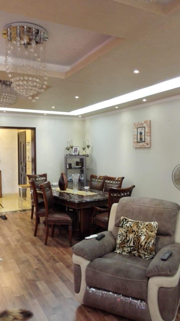 شقة فى مدينة الرحاب  180 م2 بحري وغربي للبيع كاش كود 37682