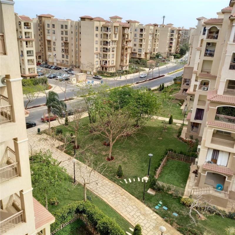 شقة فى مدينتى  100 م2 بحري وشرقي للايجار قانون جديد كود 38801