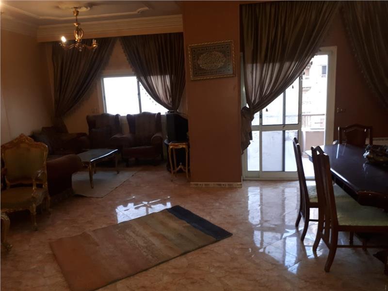 شقة فى مدينة نصر 150 م2 للايجار مفروش كود 39016