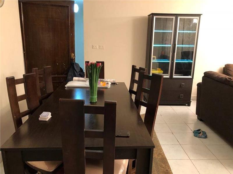 شقة فى مدينة الرحاب  118 م2 بحري و قبلي للايجار مفروش كود 41153