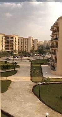 شقة فى مدينة الرحاب  131 م2 للبيع تقسيط غربي وقبلي كود 41312
