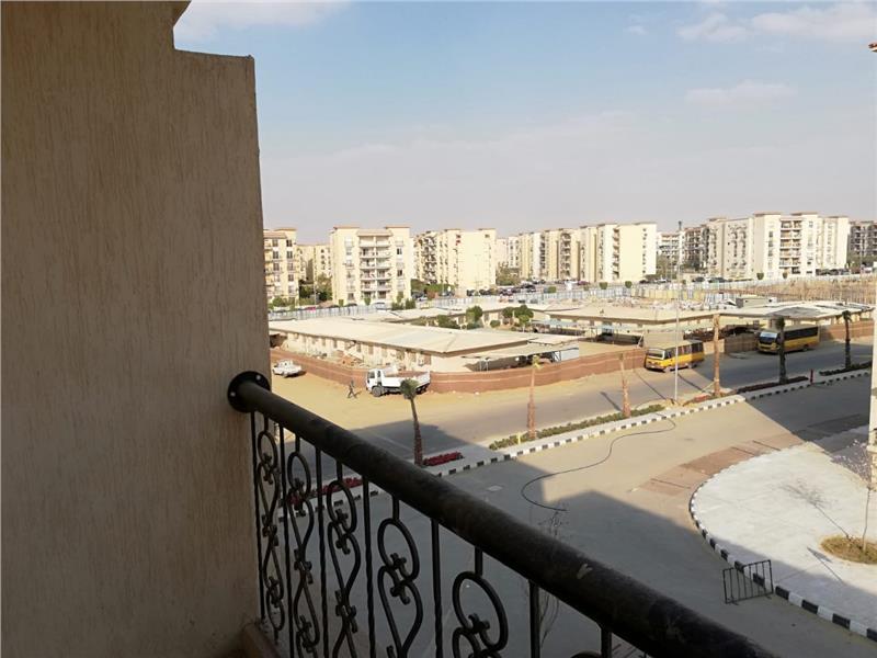 شقة فى مدينة الرحاب  89 م2 بحري وغربي للبيع تقسيط كود 41799