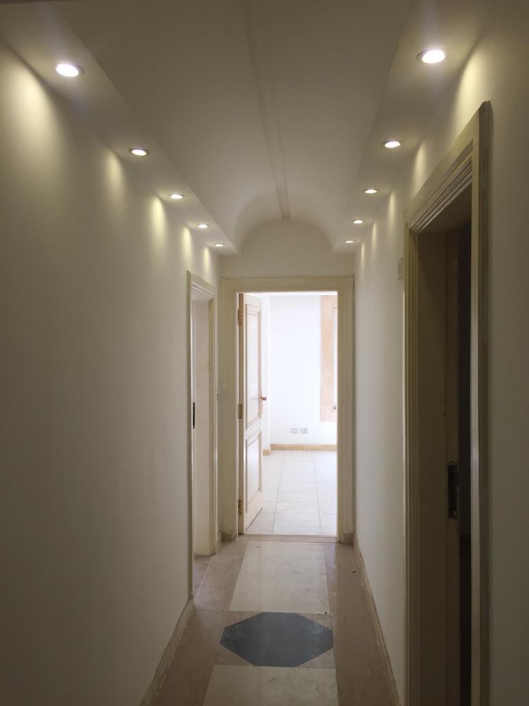 شقة فى مدينة الرحاب  155 م2 شرقي وغربي للايجار قانون جديد كود 42970