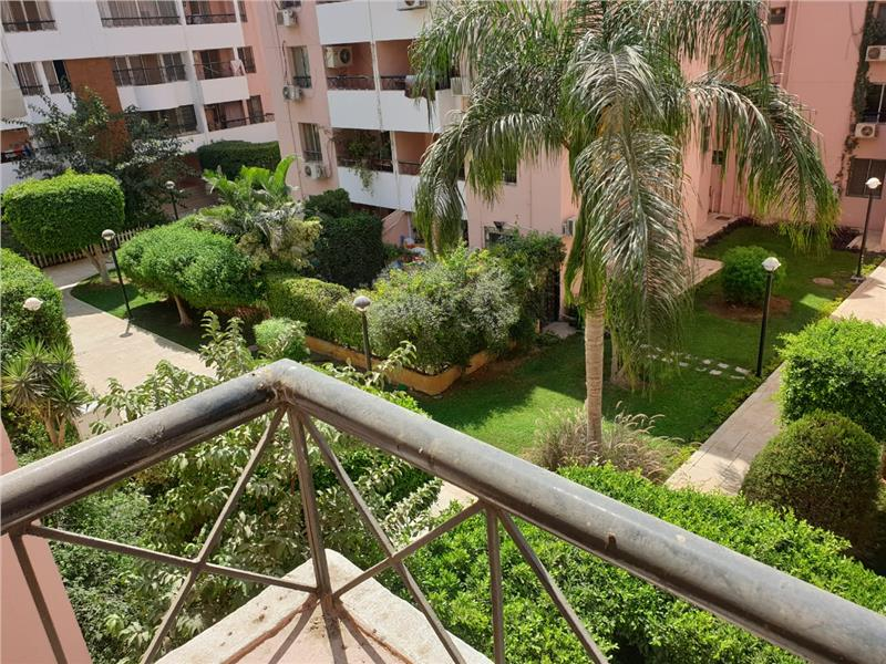 شقة فى مدينة الرحاب  154 م2 بحري و قبلي للايجار مفروش كود 43005