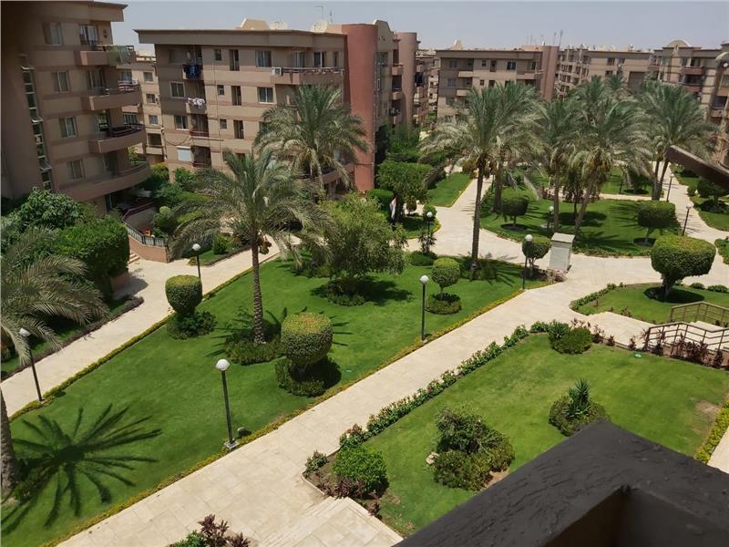 شقة فى مدينة الرحاب  119 م2 بحري و قبلي للايجار قانون جديد كود 43054