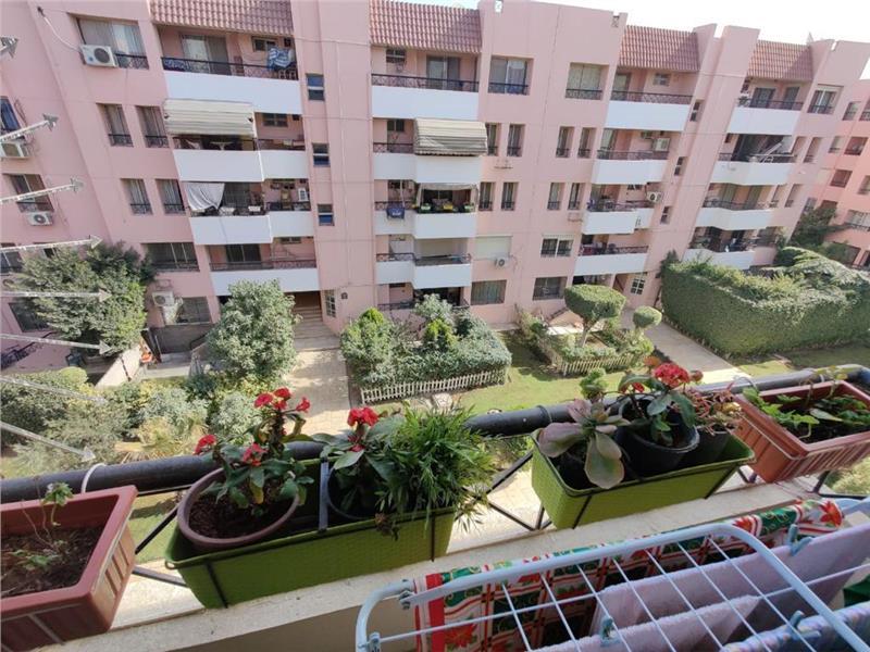 شقة فى مدينة الرحاب  90 م2 بحري وشرقي للايجار قانون جديد كود 43098
