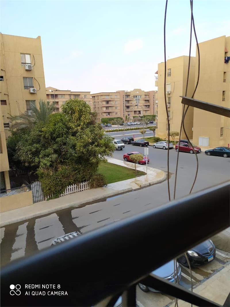 شقة فى مدينة الرحاب  90 م2 بحري وغربي للبيع كاش كود 7422