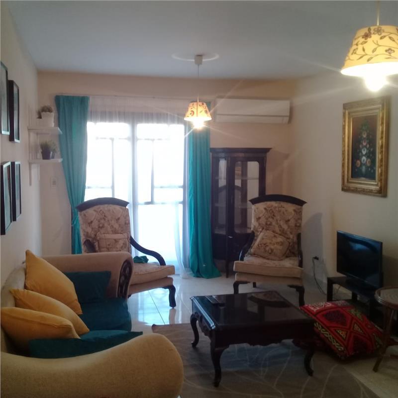 شقة فى مدينة الرحاب  90 م2 بحرى للايجار مفروش كود 9619